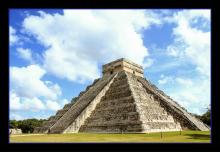 Original Photograph -Chichen Itza Pyramid