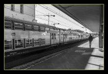 Photograph-Train Station by Rene Linares
