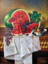 Original Oil on Canvas-Delight by Ordonez