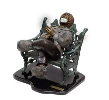 Bronze Sculpture-Enjoying the Life by Belmonte