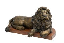 Bronze Sculpture-Your Majesty Resting by Belmonte