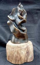 Bronze Sculpture-Scream by Lehmann
