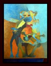 Original Oil on Canvas by Raul Guerra