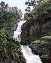 Original Oil   by  Huerta