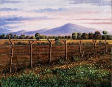 Original Oil   by C. Huerta