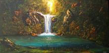 Original Oil  Landscape  by Jorge Espinosa