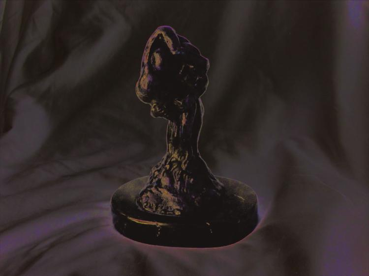 Original Scultpure Bronze on Marble Base