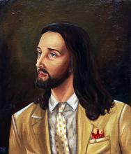 Oil on Canvas  and Wood Original Mauro Teran