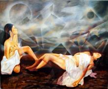 Oil on Canvas Mireya Zamora