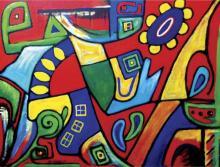Oil on Canvas Original Vela