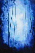 Original Oil on Canvas- Magic Forrest