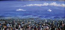 Original Acrylic on Canvas-Rafael Cortes