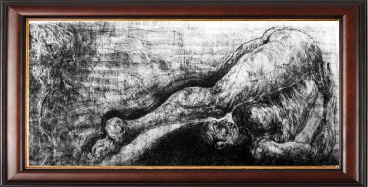 Original Erotic Art by Armando Eguiza