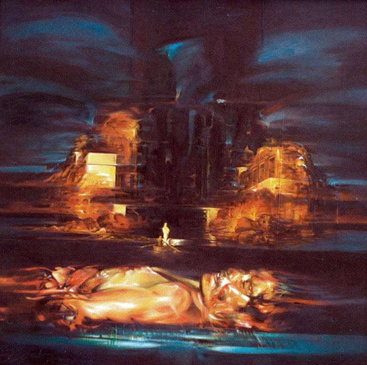 Original Oil by Antonio Vega