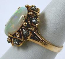Baroque Hollywood Signature Coll. by Victorian Fire Ring