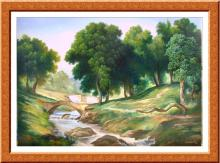 Original Oil by Angeli