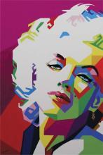 Original Oil-Marilyn Monroe-Oil on Canvas