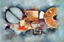 Time Machine-Oil on Canvas Original Dillon