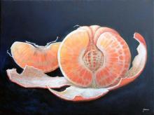 Original Acrylic on Canvas by Mexican Master Rafael Merinoo