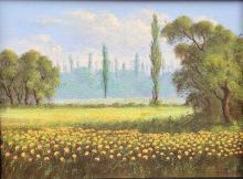 Abundant Flowers Oil on Canvas- Oscar