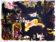 Lithography Modern Art by Jose Antonio Castillo