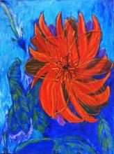 Orginal Acrylic on Canvas by Elba Castro