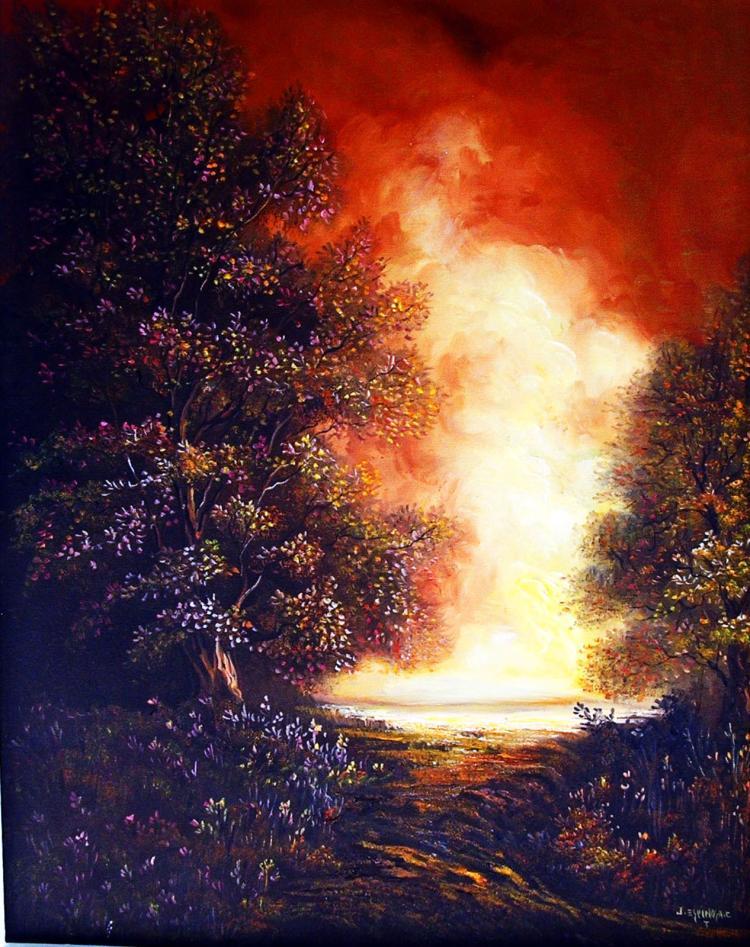 Original Acrylic on Canvas by Luis Riera