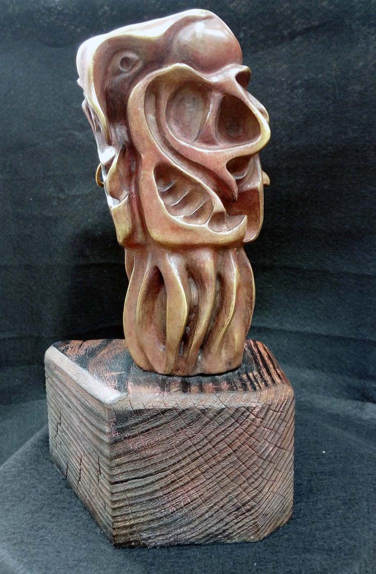 Original Oil on Woodboard by Bonilla