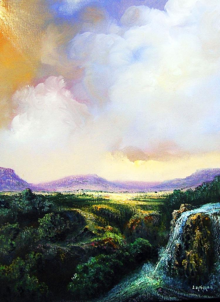Original Oil on Canvas Landscape by Jorge Espinosa