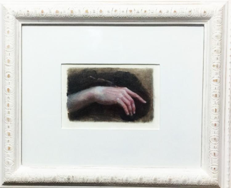 Lazarus- Oil on Archival Paper- Original De Anda