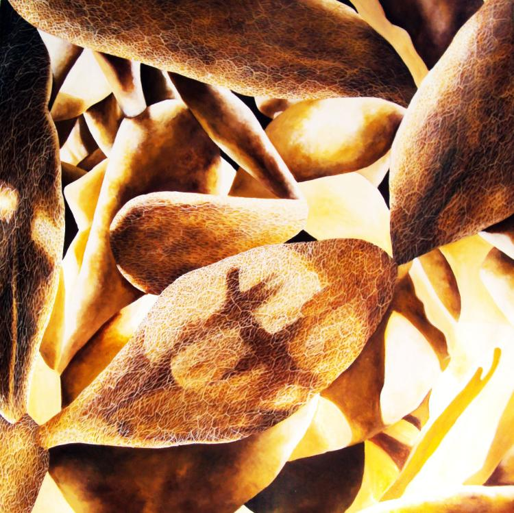 Parenquima- Acrylic on Canvas Original Carmen Rodriguez