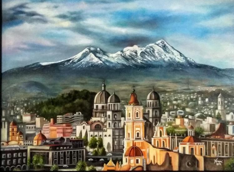 Original Oil by Maria Noemi Garifas