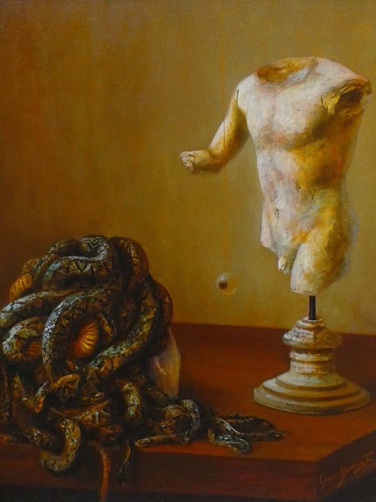 Antiquities-Oil Original Nacho Ramirez
