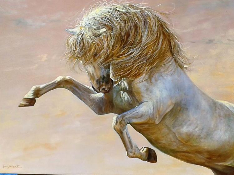 Great Horse-Oil Original Nacho Ramirez