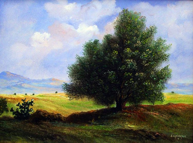 Original Oil on Canvas Landscape by Jorge Espinosa