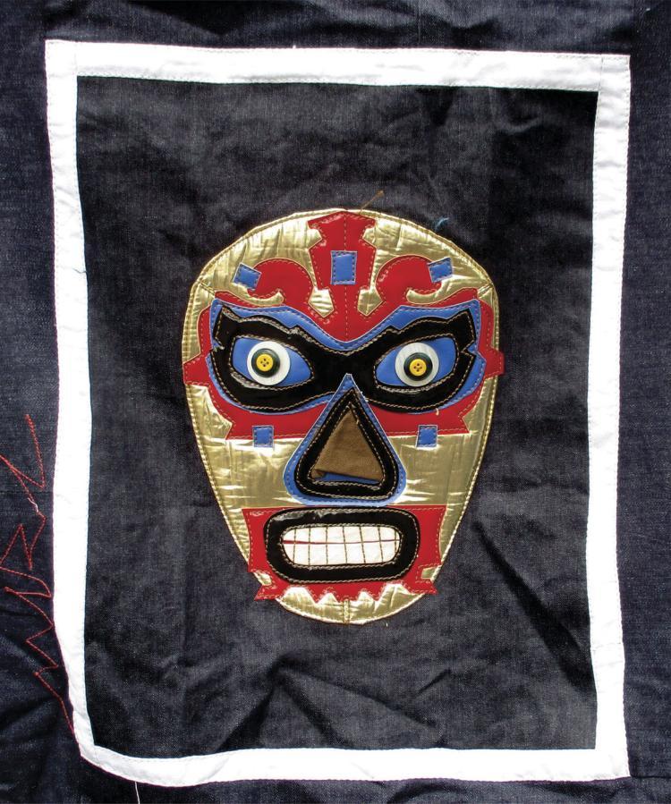 Fabric Collage Original- Miguel Angel Rivera