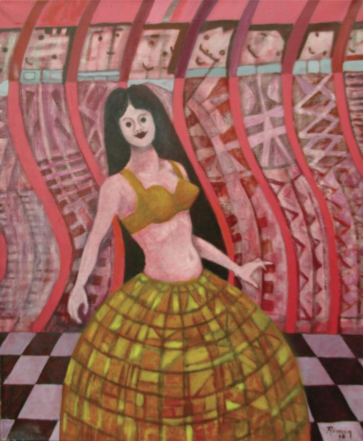 Oil on Canvas Original- Arthur Romani
