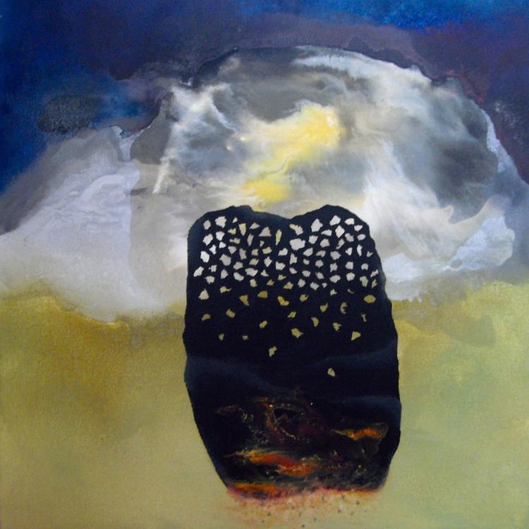 Mixed Media on Wood -Leonor Hochschild-Organic Artist