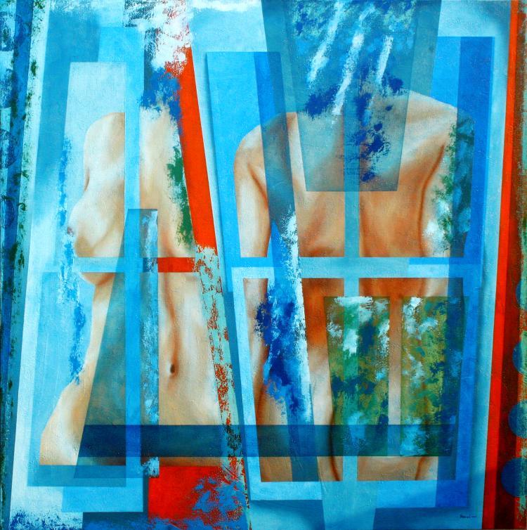 Feminine Duality-Oil on Canvas Original Roavi