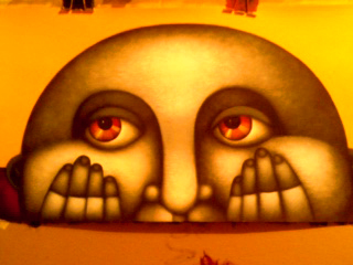 Oh Me, Oh My-Original Acrylic on Canvas- Beltran