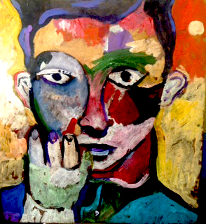 Man of Color-Original Acrylic on Canvas- Beltran