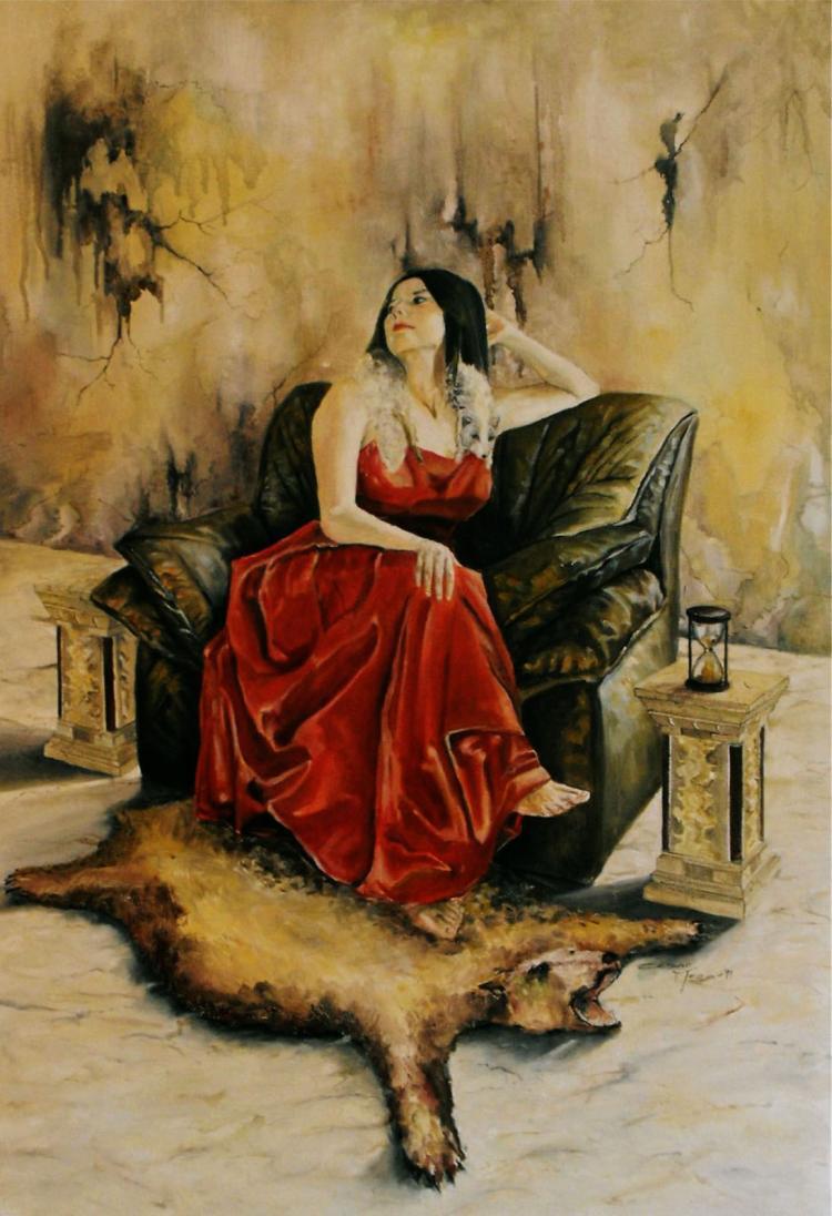 Grand Duchess-Oil on Canvas Original