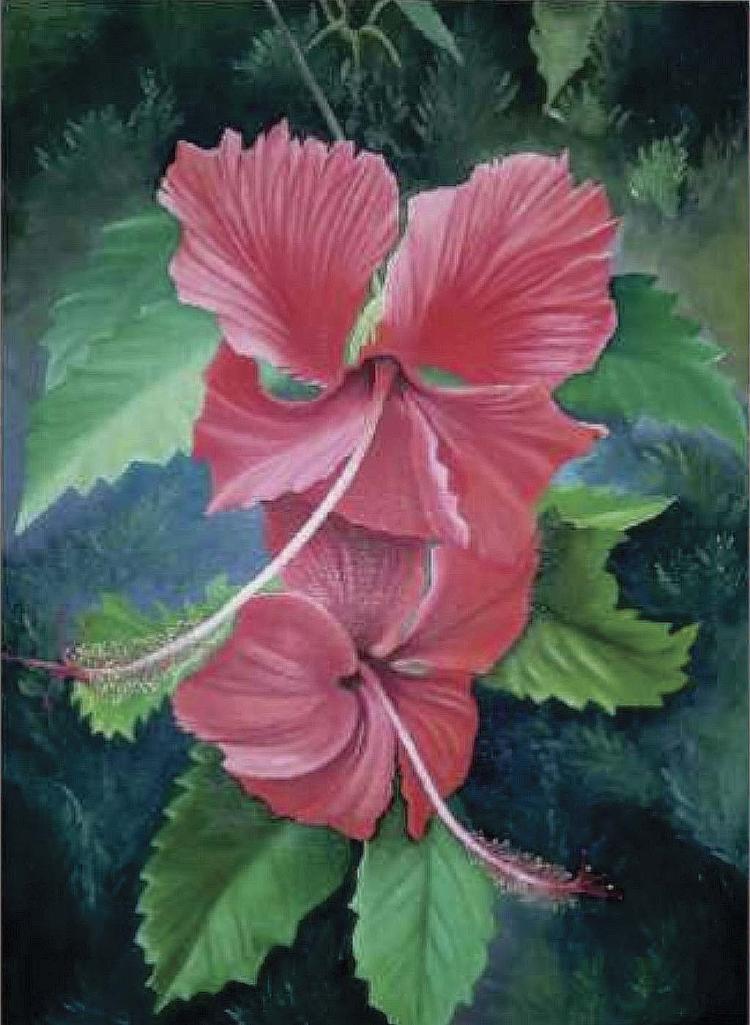 Floral Delights-Oil on Canvas Original Ceballos