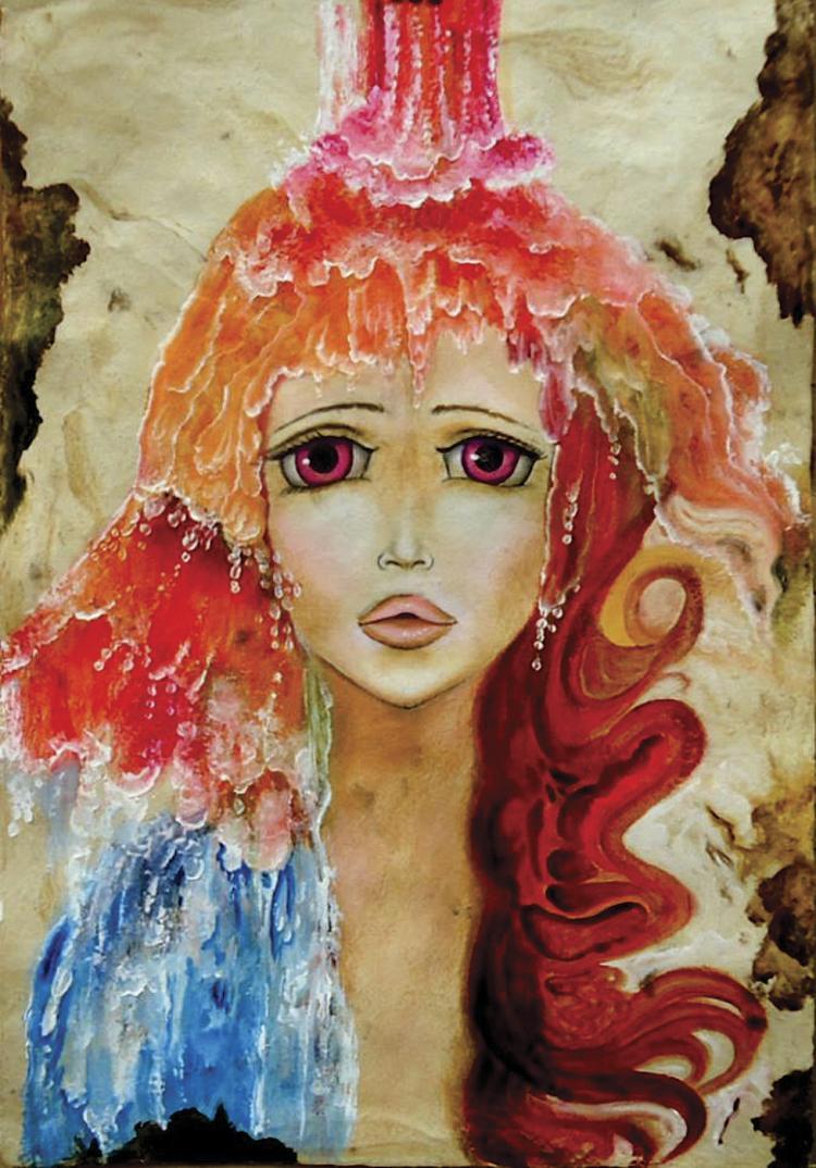 Flowing Sweetness- Oil on Canvas Original Serafin