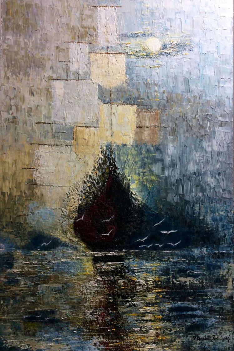 Original Oil on Canvas- Elizabeth Rodriguez