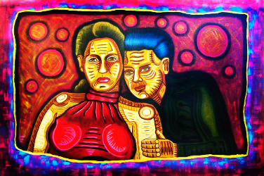 Complicated Questions-Acrylic on Canvas- René Linares