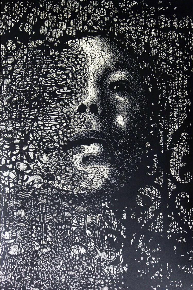 Tame Me-Linoleum- Carmen Rodriguez