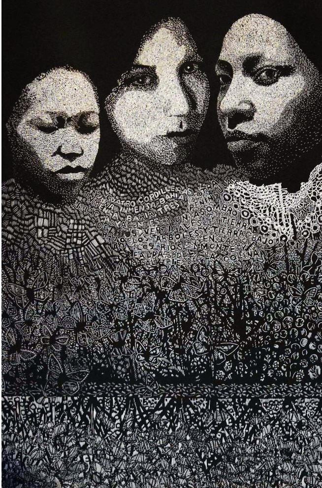 Strength Of Mind- Linoleum- Carmen Rodriguez