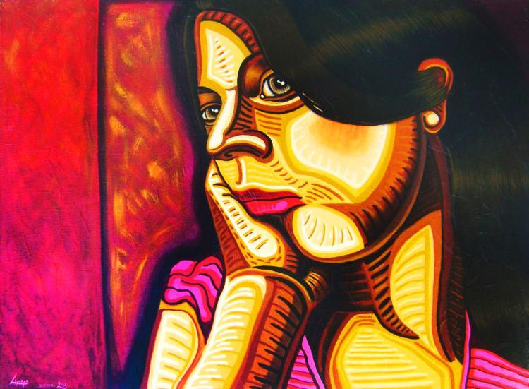 Farewell-Acrylic on Canvas- René Linares