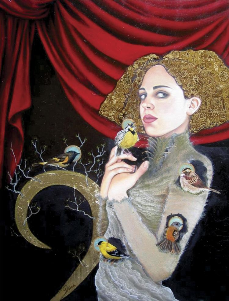 Mixed Media on Canvas- Isis Ruce